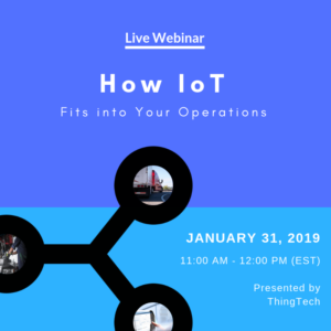 [Live Webinar] How IoT Fits into Your Operations